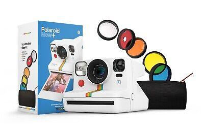 Polaroid Now Plus (+) White Instant Camera - Includes camera & creative filters