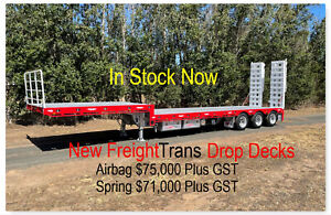 New FreightTrans Triaxle 45 foot Drop deck  with Bifold ramps Pickering Brook Kalamunda Area Preview
