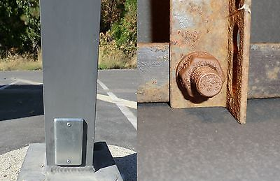 Magnetic Rusty Nano bolt & Utility Electrical Plate Geocache Containers GeoBolt