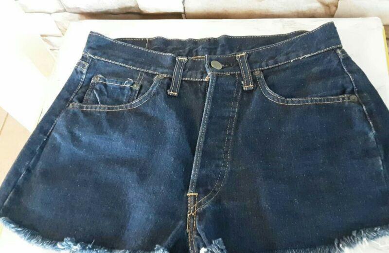 VINTAGE   Levis 501 Short Single Stitch BIG E  sz 28