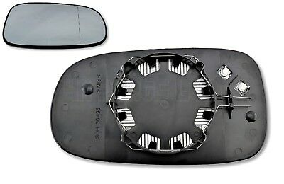 Saab 9 3 03 12 9 5 03 09 Right Side Driver Heated Door Mirror Glass 12795611