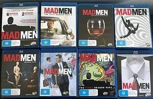Mad Men TV Series Blu-Ray Seasons 1,2,3,4,5,6,7 Marrickville Marrickville Area Preview