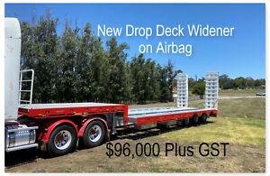 NEW  Drop Deck Widener on Airbag suspension, Bibold ramps. Pickering Brook Kalamunda Area Preview