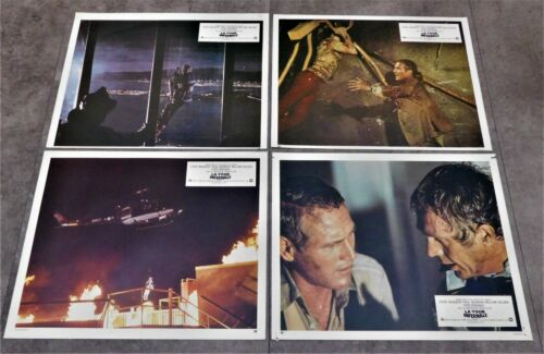 The Towering Inferno *12 Original French Lobby Cards 9x11 *1974 McQueen Newman