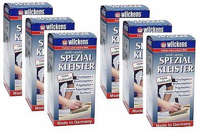 Spezial Tapetenkleister 6 x 200g. = 1200g. Vorteilspack, Wilckens