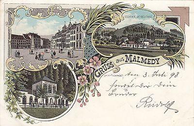 Malmedy, Farb-Litho, 1898
