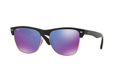 Ray-Ban Clubmaster Oversized Flash Lenses Sunglasses: Reflective (Ray Ban Sunglasses Reflective Lenses)