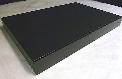 Dyi 1ru Quality Black Project Cabinet Box W Brush Aluminum Face Feet