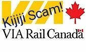 Mega Bus ticket & VIA Rail train ticket scams