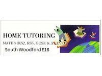 Home Maths Tutoring,Chingford,Loughton,Buckhurst hill,Woodford,Barkingside,Gants hill,Wanstead