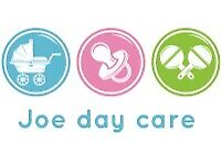 Experience day care and babysitter