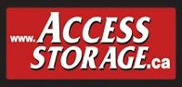 SELF STORAGE AT ACCESS STORAGE