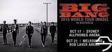 Bigbang 2015 World Tour Sydney GA Standing 18 Oct X2 Kingsgrove Canterbury Area Preview