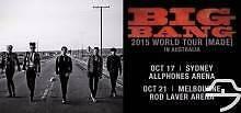 Bigbang 2015 World Tour Sydney VIP Standing 17Oct Kingsgrove Canterbury Area Preview