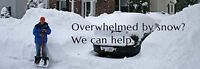 LOOKING FOR SNOW REMOVAL ?