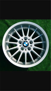 Bmw style 32 rim and tire