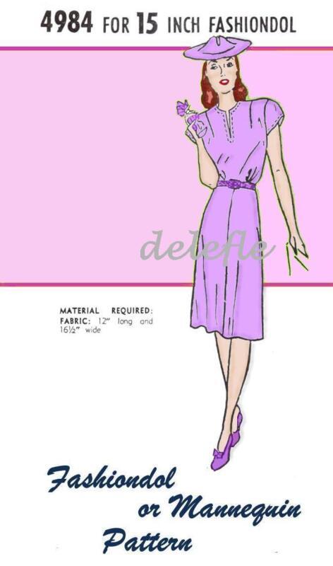 4984 Fashiondol Mannequin Manikin 15 inch LaTexture