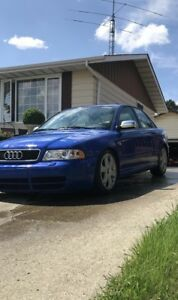 REAL 2002 Audi s4 2.7L Twin Turbo