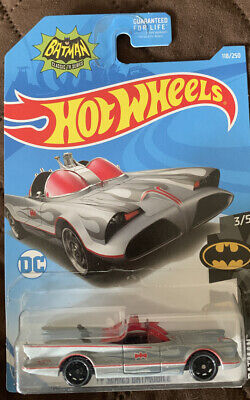 Hot Wheels- TV Series Batmobile -Batman -118/250 (3/5) -FREE SHIPPING