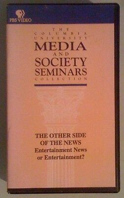Pbs The Other Side Of News Entertainment News Or Entertainment   Vhs Videotape
