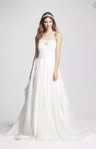 3a0c7232306d New Authentic Rosa Clara Belleza organza lace wedding dress Size 10 $4950