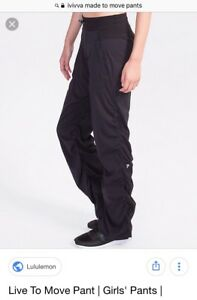 L/F Ivivva Live To Move Pants