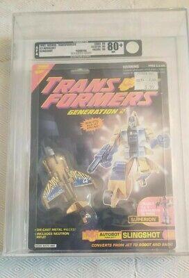 Transformers Generation 2 Slingshot (Hasbro 1993) AFA 80+ 80/90/90