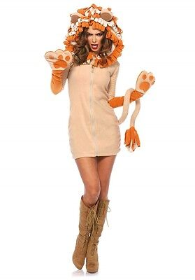 LAG Leg Avenue 85501 Sexy Damen Kostüm Löwe Katze Wild Cat Cozy Lion Tierkostüm