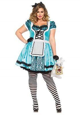 LAG Leg Avenue 85372 Sexy Damen Kostüm Alice Tea Party Alice Hut Wonder 1-4XL