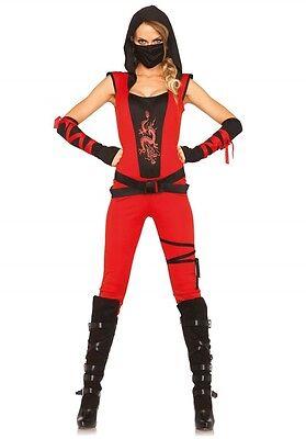 LAG Leg Avenue 85384 Sexy Damen Kostüm Ninja Kämpfer Fighter Warrior Krieger