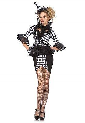 LAG Leg Avenue 85416 Sexy Damen Kostüm Clown Harlekin Pretty Piroutte - Sexy Clown Kostüm