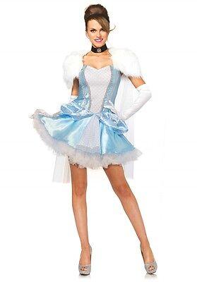 LAG Leg Avenue 85406 Sexy Damen Kostüm Cinderella Prinzessin Lizenzkostüm XS-L
