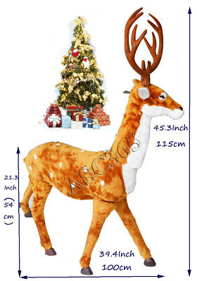 ON SALE Christmas Decorations Emulate Elk For Chiristmas Outfit Festival NEW