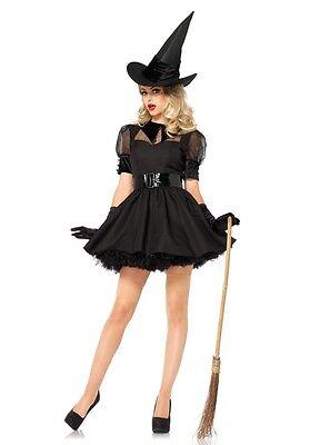 Leg Avenue Bewitching Witch Kostüm,Sexy Hexe,Hot,Fasching,Karneval, 85238
