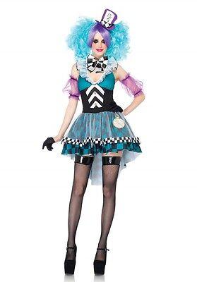 IAL Leg Avenue 85227 Sexy Damen Kostüm Hutmacher Manic Mad Hatter Alice Hut S-L