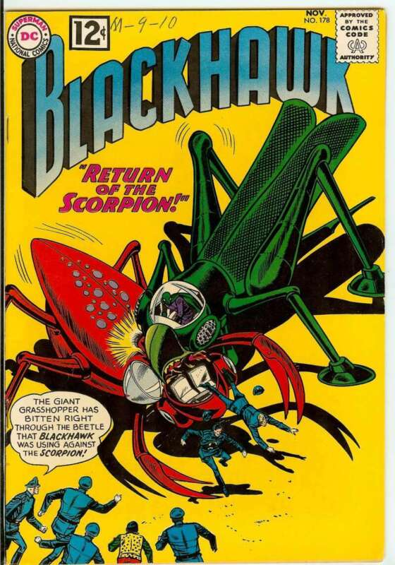 BLACKHAWK #178 7.0