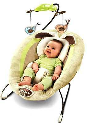 Overhead Mobile - NEW FISHER PRICE MY LITTLE SNUGABUNNY DELUXE BOUNCER WITH OVERHEAD MOBILE +