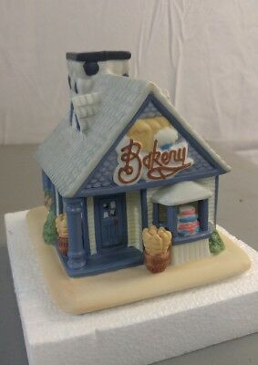 "RETIRED PARTY LITE ""THE COTTAGE BAKERY"" VOTIVE, TEA LITE, HOLDER P0249 EUC"