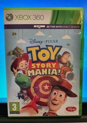Toy Story Mania Xbox 360 PAL UK **FREE UK POSTAGE!!**