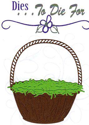 Dies...to die for metal cutting craft die Build -A - Basket Easter Holiday - Easter Basket Craft