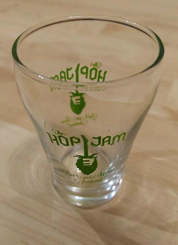 RARE  Hanson The Hop Jam Beer and Music Festival 6 oz glass
