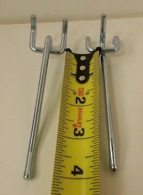 50pc 4 Heavy Duty Peg Board Hooks Shelf Hanger Kit 4 X 14
