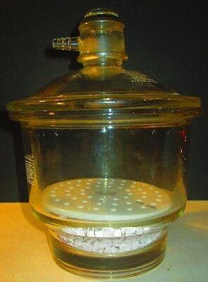 Glass Pyrex Desiccator Jar Dryer Brasil Lubricate 4035 Lab Glass Nn2