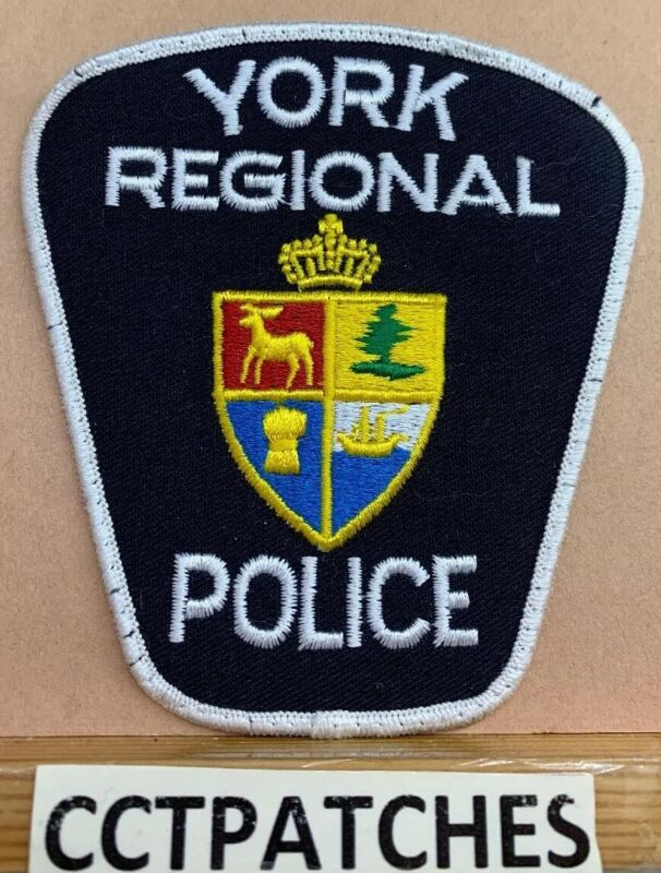 YORK REGIONAL, CANADA POLICE SHOULDER PATCH