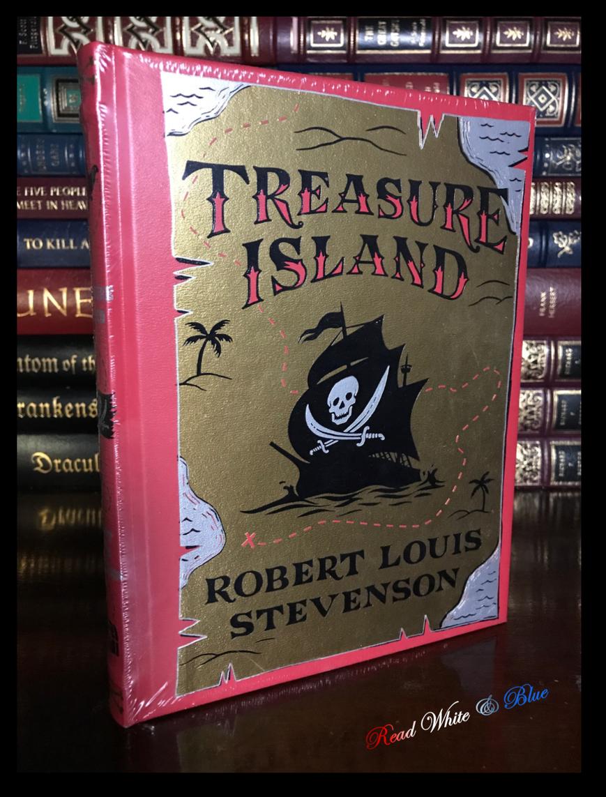 Treasure Island by Stevenson & Illustrated N.C. Wyeth Sealed Leather Hardback For Sale - 2