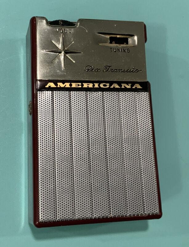Americana FC60 Vintage Transistor radio WORKS