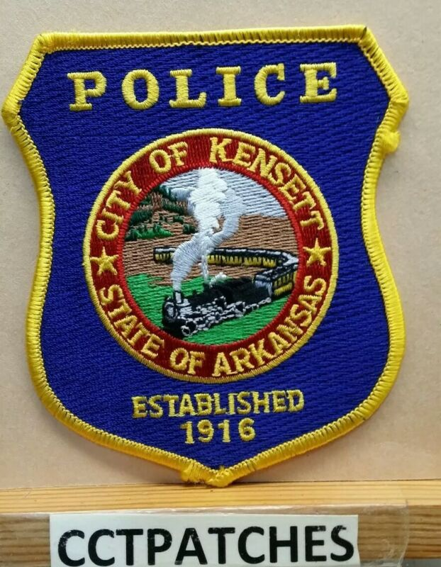 CITY OF KENSETT, ARKANSAS POLICE SHOULDER PATCH AR