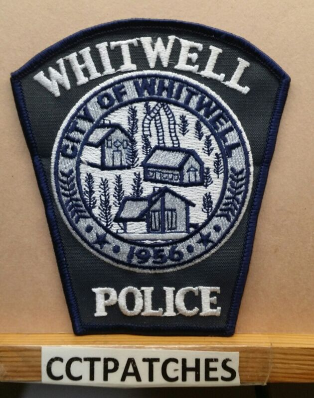 WHITWELL, TENNESSEE POLICE SHOULDER PATCH TN