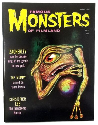 Famous Monsters Of Filmland #4 - War Of The Worlds (Reprint) Magazine 2008