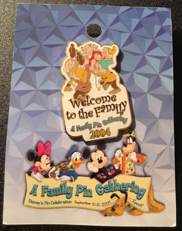 WDW A Family Pin Gathering 2004 Welcome to the Family Seven Dwarfs LE 1250